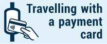 Travelling with a payment card