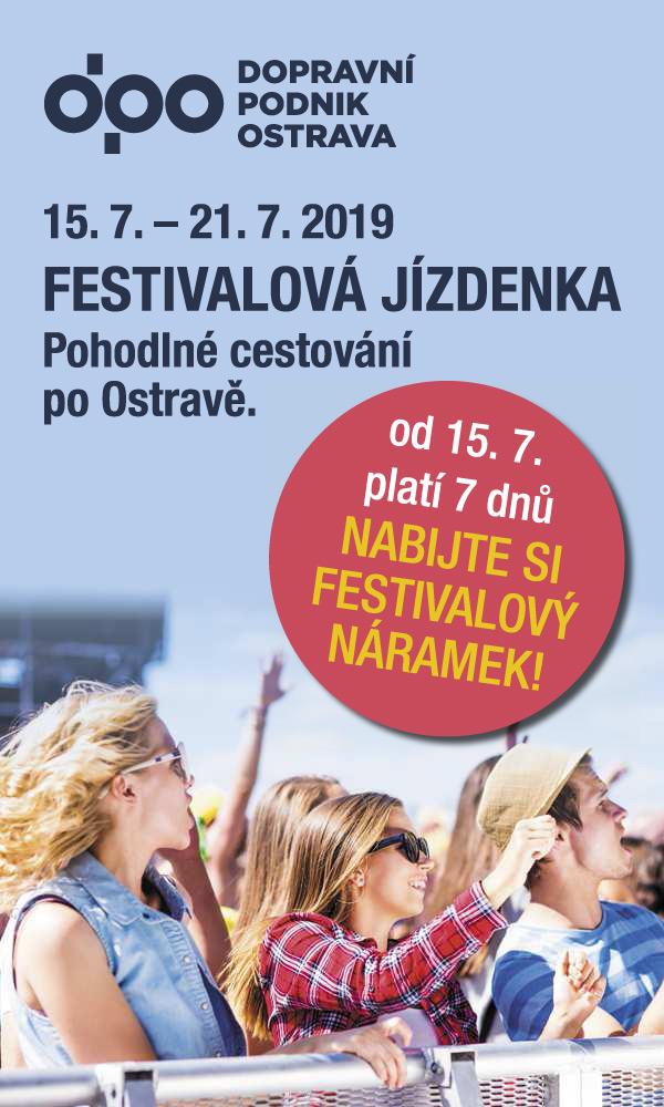 Festivalová jízdenka