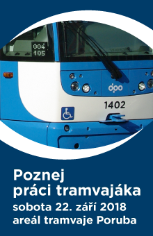 Poznej práci tramvajáka - sobota 22. září 2018