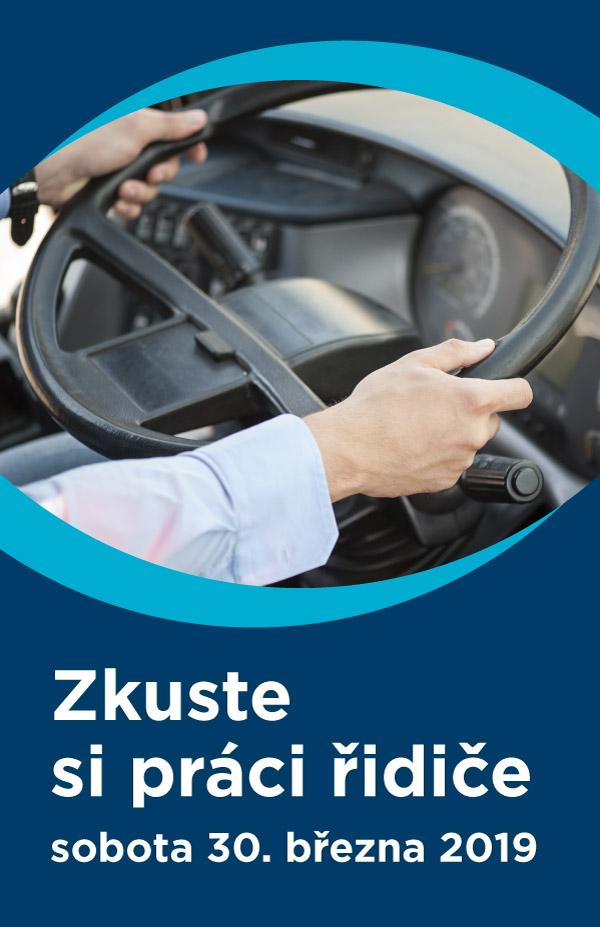 Zkuste si práci řidiče - sobota 30. března 2019
