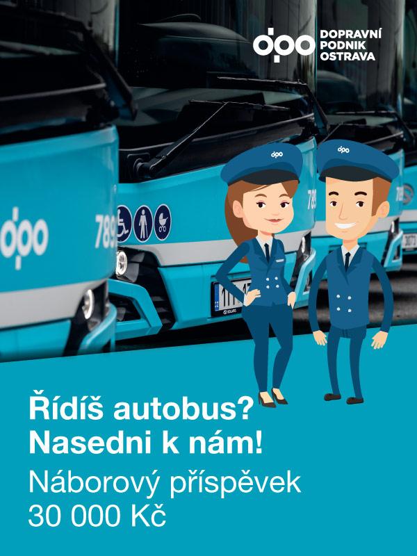 Řídíš autobus? Nasedni k nám!